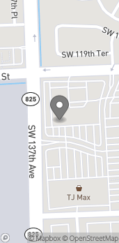Map of 13550 SW 120th St in Miami