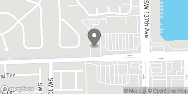 Mapa de 13781 SW 152nd Street en Miami
