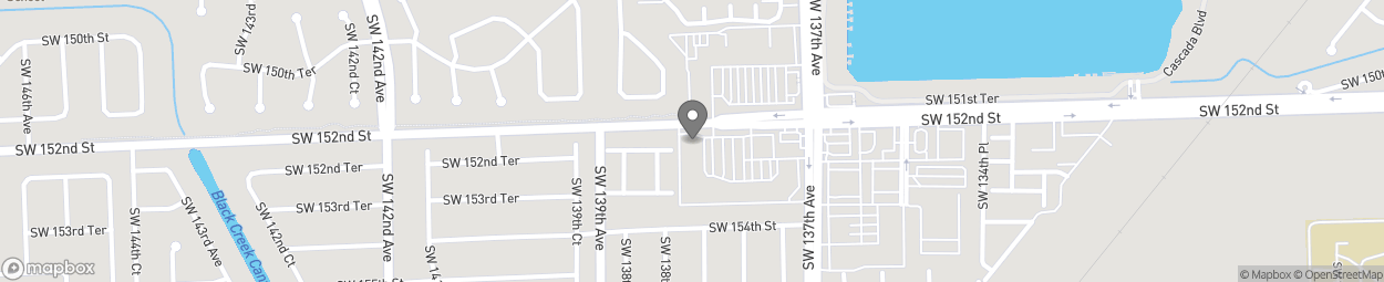 Map of 13820 Southwest 152nd Street in Miami