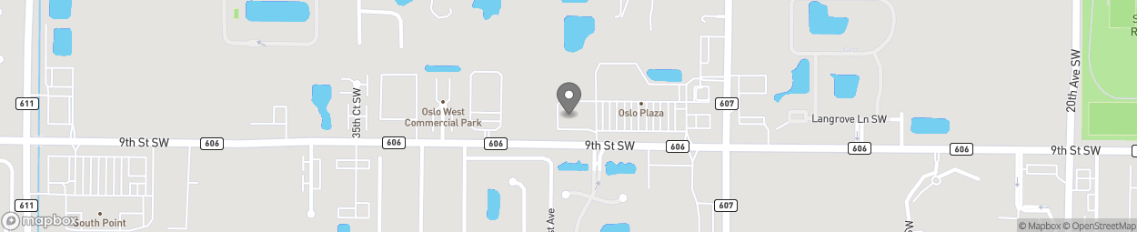 Map of 2990 9th Street SW in Vero Beach