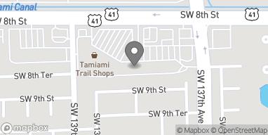 Mapa de 13796 SW 8th Street en Miami