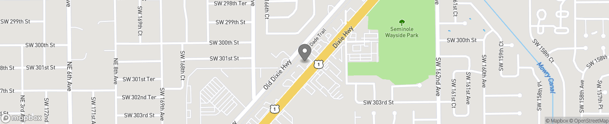 Map of 30060 S Dixie Hwy in Homestead