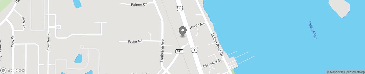 Map of 949 US Highway 1 in Sebastian