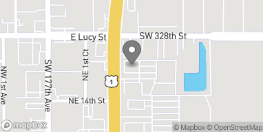 Mapa de 32951 S Dixie Hwy en Florida City