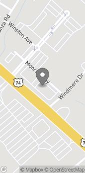 Map of 2943 Monroe Way in Monroe