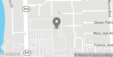 Mapa de 226 E Eau Gallie Blvd en Indian Harbour Beach