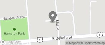 Map of 1111 Mill Street in Camden