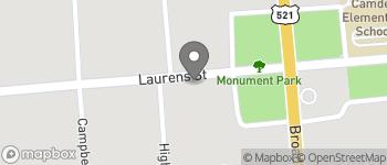 Map of 615 Laurens Street in Camden