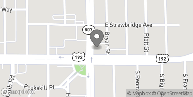 Map of 10 E New Haven Ave in Melbourne