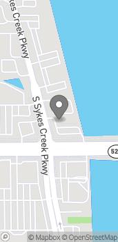 Mapa de 800 E. Merritt Island Causeway en Merritt Island