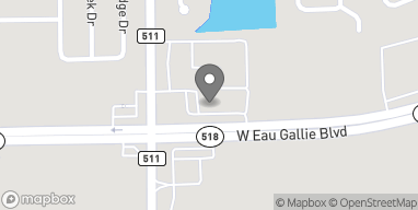 Map of 4450 W Eau Gallie Blvd in Melbourne