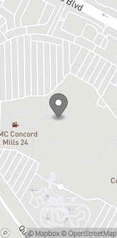Map of 8111 Concord Mills Blvd in Concord
