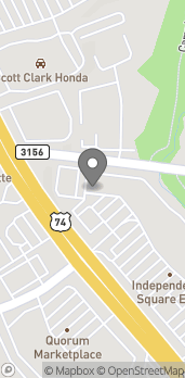 Map of 7211 E Independence Blvd in Charlotte