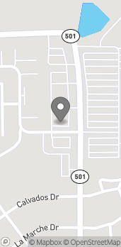 Map of 2701 Clearlake Rd in Cocoa