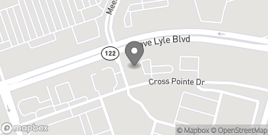 Map of 2434 Dave Lyle Blvd in Rock Hill