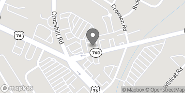 Map of 702 Cross Hill Rd in Columbia