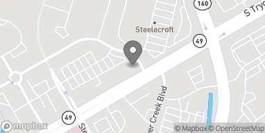 Map of 13545 Steelecroft Pkwy in Charlotte