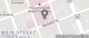 Map of Taylor & Marion St in Columbia