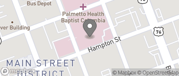 Map of 1519 Marion St in Columbia