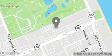 Mapa de 153 E Granada Blvd en Ormond Beach