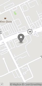 Map of 374 W Granada Blvd in Ormond Beach