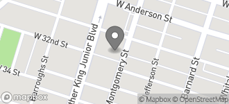Map of 4119 Montgomery St. in Savannah