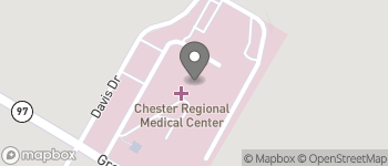Map of 1 Medical Park Dr in Chester