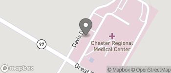 Map of 1 Medical Park Drive in Chester