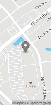 Mapa de 2783 Elkcam Blvd en Deltona