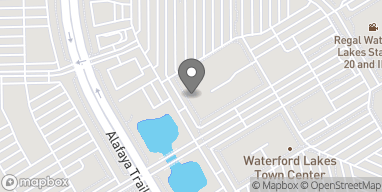 Mapa de 707 N Alafaya Trail en Orlando