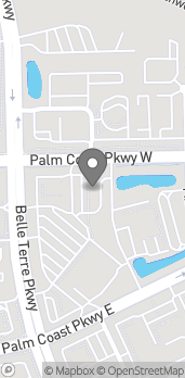 Map of 1475 NW Palm Coast Pkwy in Palm Coast