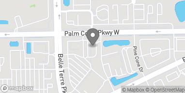 Mapa de 1475 NW Palm Coast Pkwy en Palm Coast