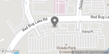 Mapa de 8085 Red Bug Lake Rd en Oviedo