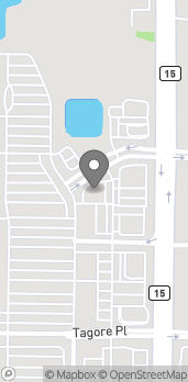Map of 11954 Narcoossee Rd in Orlando
