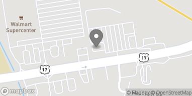 Map of 5914 Ogeechee Rd in Savannah
