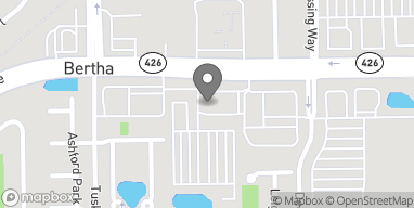 Map of 3607 Aloma Ave in Oviedo