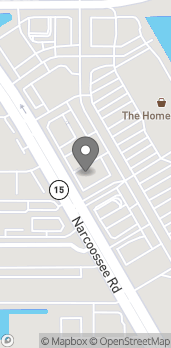 Mapa de 7051 Narcoossee Road en Orlando