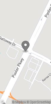 Map of 1702 Pooler Parkway in Pooler