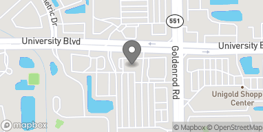 Map of 7460 University Blvd in Winter Park