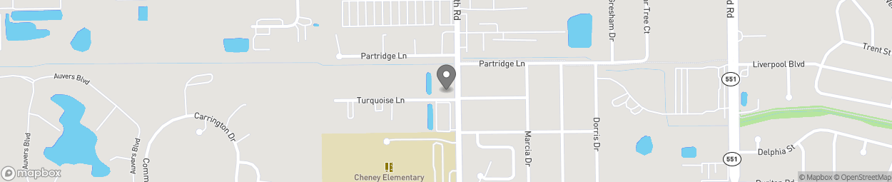 Map of 2050 Forsyth Road in Orlando