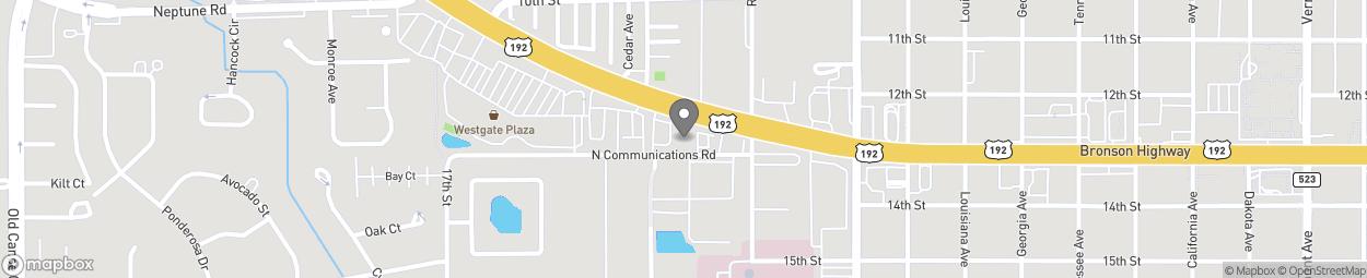 Map of 3189 13th Street in Saint Cloud