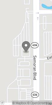 Mapa de 6324 S Semoran Blvd en Orlando