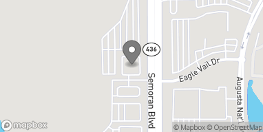Map of 6324 S Semoran Blvd in Orlando