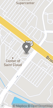Map of 4305 13th St in Saint Cloud