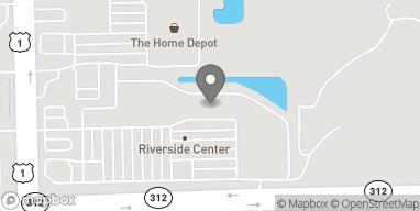 Mapa de 256 State Road 312 en St. Augustine