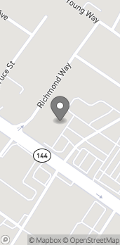 Map of 60 Exchange St in Richmond Hill