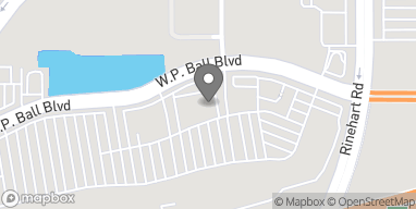 Mapa de 1657 Wp Ball Blvd en Sanford
