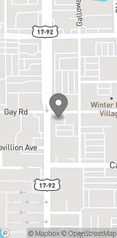 Mapa de 432 N Orlando Ave en Winter Park