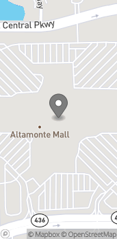 Map of 451 E Altamonte Dr in Altamonte Springs