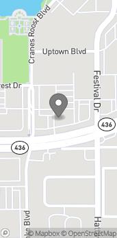 Map of 275 E Altamonte Drive in Altamonte Springs